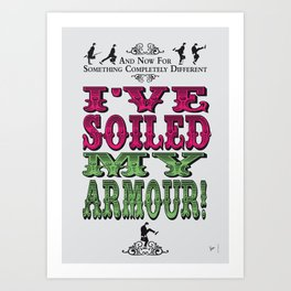 No03 My Silly Quote Poster Art Print