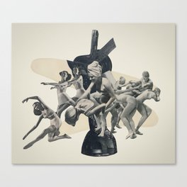 The Dizzy Heights Canvas Print