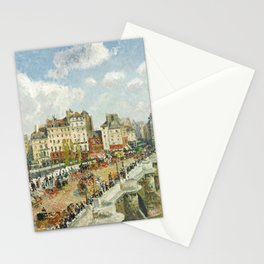 Camille Pissarro - The Pont-Neuf, 1902 Stationery Cards