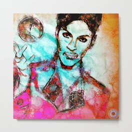 """Royalty"" - Pop Art Print Metal Print"