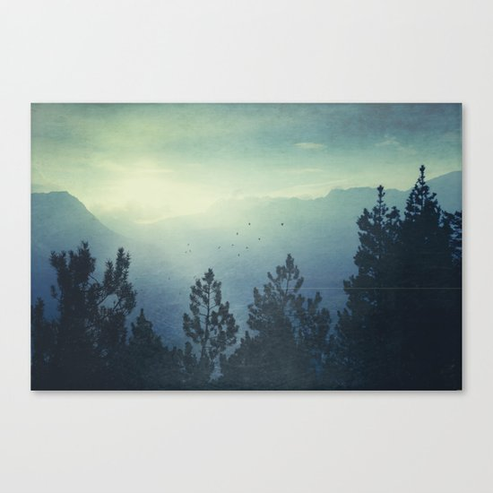 Waking Country Canvas Print