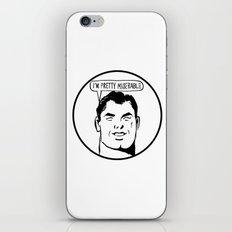 Woebegone iPhone & iPod Skin
