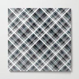 Checkered ornament Metal Print