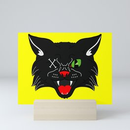 Scaredy Cat Mini Art Print