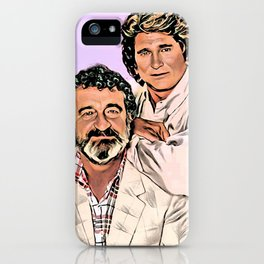 Michael Landon & Victor French iPhone Case