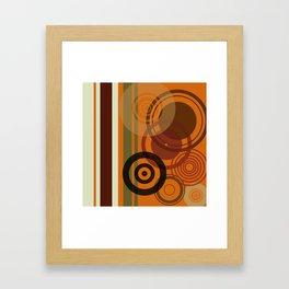 Retro Color 01 Framed Art Print