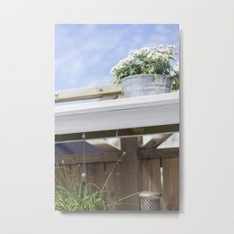 SWEDISH SUMMER IV Metal Print