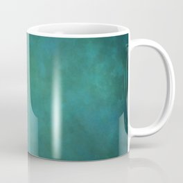 Abstract Soft Watercolor Gradient Ombre Blend 11 Teal, Turquoise, Green and Blue Coffee Mug