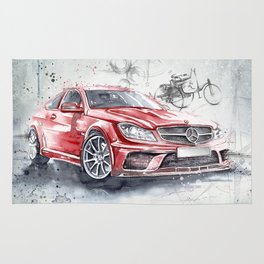 Red Beauty - Benz Rug