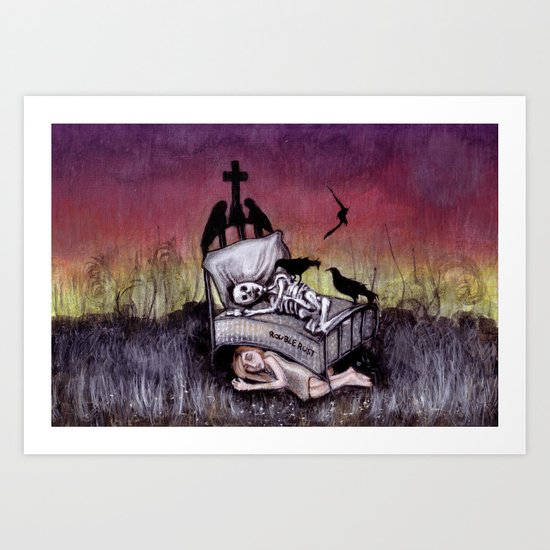 Sleeping at last Art Print