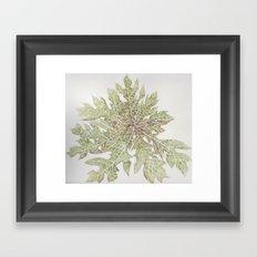 50 Shades of Green Framed Art Print