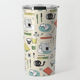 Coffee, journals and peace of mind. Travel Mug