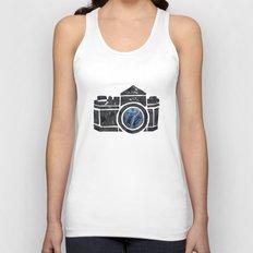 Camera Unisex Tank Top