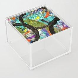 My Life Square Abstract Acrylic Box