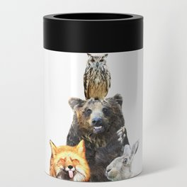 Woodland Animal Friends Can Cooler