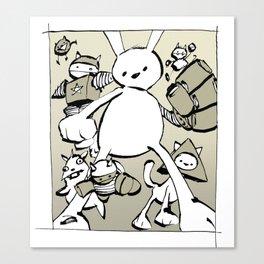 minima - beta bunny Canvas Print