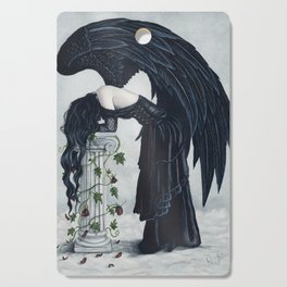 Despair Gothic Angel Cutting Board