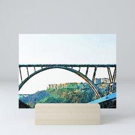 Catanzaro: Morandi bridge Mini Art Print
