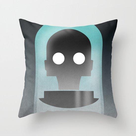 Mr. Freeze Throw Pillow