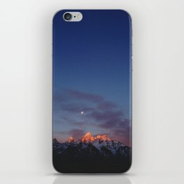 Teton Tips iPhone Skin
