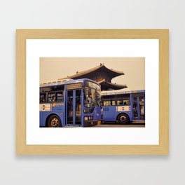 Dongdaemun Gate I Framed Art Print