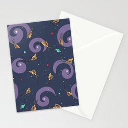 This Way Up -- Pattern Stationery Cards