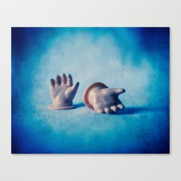 Doll Hands Canvas Print