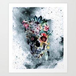 Memento te hominem esse Art Print