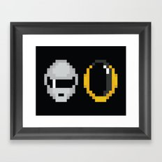 Daft Pixels Framed Art Print