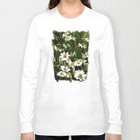 daisies Long Sleeve T-shirts featuring Daisies by Usha Shantharam
