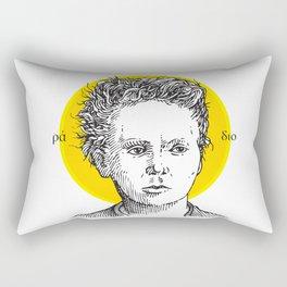 St. Marie Curie Rectangular Pillow