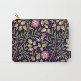 William Morris Sweet Briar Floral Art Nouveau Carry-All Pouch