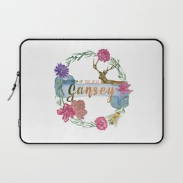 """Gansey - Best Mom of The Year"" The Raven Cycle Inspired Laptop Sleeve"