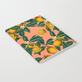 Lemon and Leaf Notebook