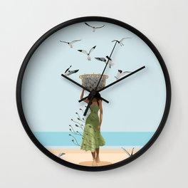 Fish Seler Wall Clock