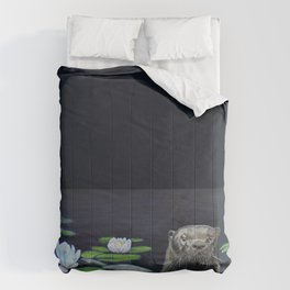 The River Otter by Teresa Thompson Comforters