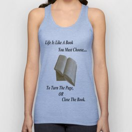 Books and Life Unisex Tank Top