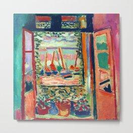 Henri Matisse Open Window at Collioure Metal Print