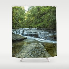Ledge Falls, No. 2 Shower Curtain