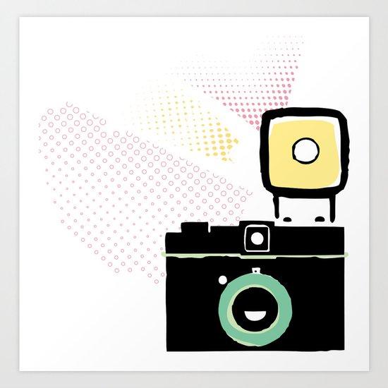 Say cheese, gorgeous! Art Print