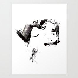 Nude Beauty #3 Art Print