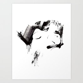 Nude Beauty #3 Art Print