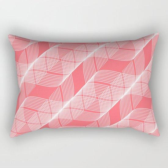 Helix Coral Rectangular Pillow