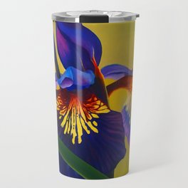 A Purple Iris Travel Mug