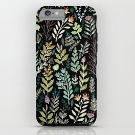 Dark Botanic iPhone Case
