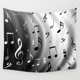 Music waves Wall Tapestry