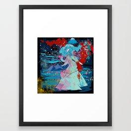 under the stars Framed Art Print
