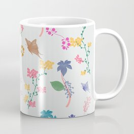 Buttterflies in Garden Coffee Mug