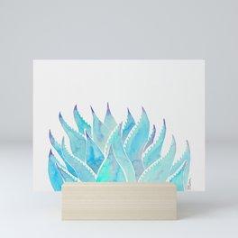Blue Agave Mini Art Print