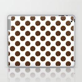 Chocolate Concha Pan Dulce (Mexican Sweet Bread) Laptop & iPad Skin